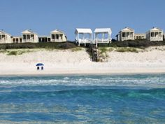 Seaside Beach, Seaside, FL    Best for Families: Pastel wood-paneled houses border dunes on this picture-perfect Gulf Coast beach, ranked No. 1 for families. After games of waterfront Frisbee, the entire crew can take cruiser bikes into town for a casual seafood dinner.