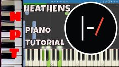 Twenty One Pilots - Heathens - Piano Tutorial