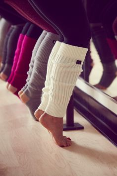 Under Armour Leg Warmers. Warm, snug and built to stay put. The perfect accessory for your studio classes, from yoga to barre.