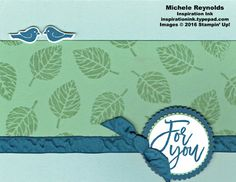 Thoughtful Branches For You Leaves by Michelerey - Cards and Paper Crafts at Splitcoaststampers