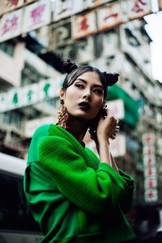 """stormtrooperfashion: Wu Ting Ting in """"Sham Shui Po"""" by Jeff Hahn for SCMP Post Magazine, March 2013 Foto Fashion, Fashion Shoot, Editorial Fashion, Fashion Beauty, Asian Fashion, Fashion Edgy, Fashion 2018, Fashion Fall, Fashion Women"""
