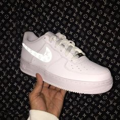 4d6251a9312 Custom LV After Glow Air Force 1 Sneakers - limetliss Air Force 1 High