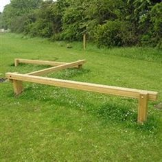 wood outdoor exercise equipment - Google Search