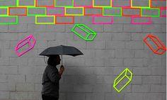 紐約藝術家 Aakash Nihalani 創意膠帶藝術遊戲街頭 | FLiPER MAG