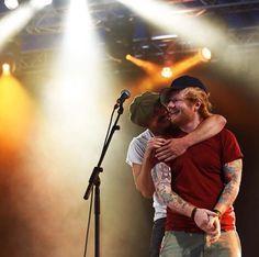 Ed Sheeran & Foy Vance at Latitude Festival 2016