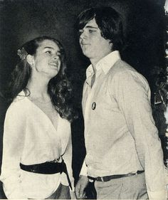 Brooke Shields and William Kennedy Smith