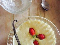 Sabayon et des fraises / Encore un gâteau Blog Patisserie, Camembert Cheese, Pudding, Fruit, Voici, Strawberries, Kitchens, Alcohol