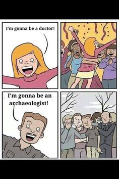 Archaeology humor
