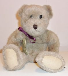 Authentic Boyds Brown 16 Vintage Plush Jointed Bear
