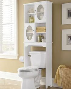 Freshen up with buy now, pay later bathroom furniture! Browse smart bathroom space savers and furniture, including towers, over-the-toilet cabinets and storage shelves. Small Bathroom Storage, Bathroom Design Small, Bathroom Interior Design, Bathroom Laundry, Toilet Storage, Shoe Storage, Laundry Rooms, Bathroom Ideas, Bathroom Furniture