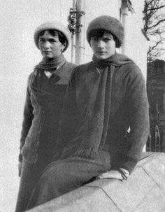"The Grand Duchesses Olga and Tatiana Nikolaevna Romanova of Russia. ""AL"""