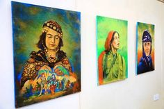 Exhibition KHALED SATAR Museum Gallery Sulaimaniya