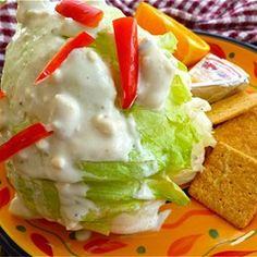 Absolutely the BEST Rich and Creamy Blue Cheese Dressing Ever!