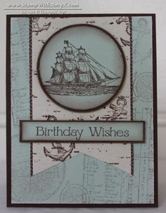 The Open Sea Banner Card by amyk3868 - Cards and Paper Crafts at Splitcoaststampers
