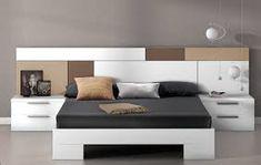 Resultat d'imatges de habitación matrimonio cabezal moderno My Furniture, Furniture Styles, Bedroom Furniture, Furniture Design, Trendy Bedroom, Modern Bedroom, Bedroom Wall, Master Bedroom, Ideas Armario