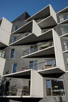 Placas para fachada CUPACLAD® 101 LOGIC | ardósia natural, com 40x20cm e fechamento oculto | DAN