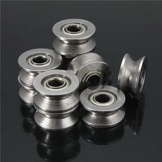 10pcs 624VV V Groove Sealed Ball Bearings V Groove 4x13x6mm 1.5mm Deep Ball Bearings