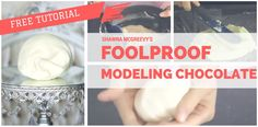 Shawna McGreevy shares how and WHY you need to use modeling chocolate for cake decorating.  Ahhh!! I've finally got it! After...