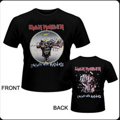 Camiseta de chico M/C  IRON MAIDEN - Can I Play with Madness