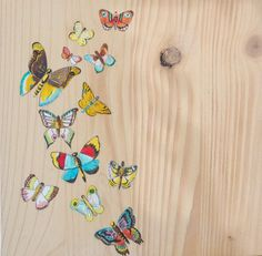 Original Butterfly painting on wood Original by CalamariSky Painting On Wood, Painting & Drawing, Watercolor Paintings, Wood Paintings, Butterfly Painting, Butterfly Art, Butterflies, Gifts For Girls, Gifts For Her