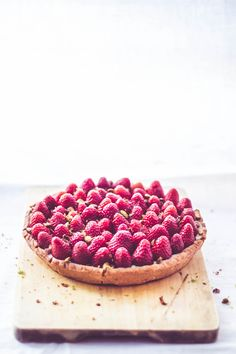 ... coconut lime strawberry tart ...