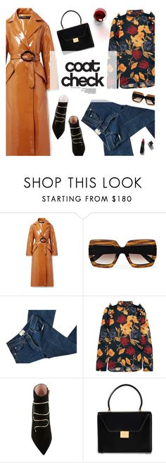 """Go Bold: Statement Coats"" by magdafunk ❤ liked on Polyvore featuring E L L E R Y, Gucci, 3.1 Phillip Lim, Mother of Pearl, Victoria Beckham, Garance Doré, ankleboots, darkflorals and statementcoats"