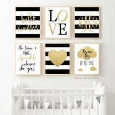 Cute Woodland themed nursery wall prints. These prints are great for the nursery and as she grows up! Choose your colors, mix and match between listings, the options are endless.HOW TO ORDER... Gold Nursery, Nursery Wall Decor, Baby Room Decor, Nursery Themes, Themed Nursery, Nursery Colours, Nursery Art, Black White Nursery, Gold Wall Decor