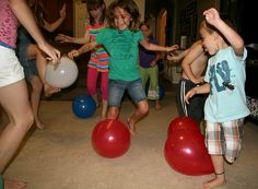 Great birthday party game idea! Or just for family fun time!