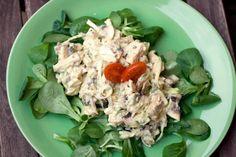 #Insalata di pollo e #funghi #salad @Chezuppa