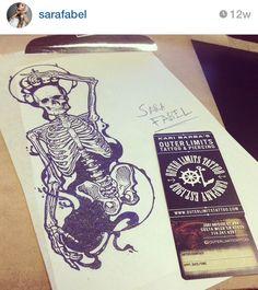 Sara Fabel skeleton king