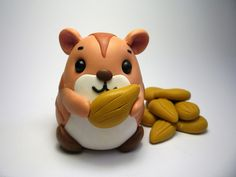 polymer clay hamster