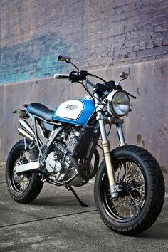 Piston Brew: DR 650 Street Tracker