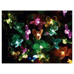Buy Tesco Butterfly Solar Line Light - 20pc from our Solar Lights range…