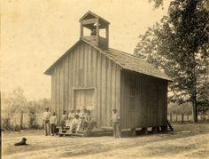Morehouse Parish, LA - Baptist Church & School.  Was located on a plantation.