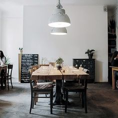 Insider's Guide: 14 Don't-Miss Restaurants, Coffee Shops, and Cocktail Bars in Berlin - Remodelista Design Café, Cafe Design, House Design, Restaurant Berlin, Restaurant Design, Restaurant Layout, Café Bistro, Café Bar, Coffee Shop Design