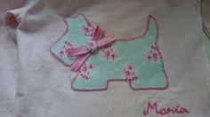 Camiseta de perrito para María (tilda).