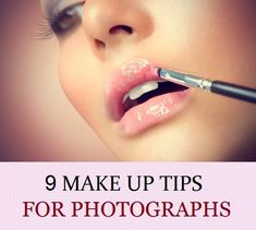 9 makeup tips for photographs -  Doing makeup for photographs is a little different than every day makeup. Some things look great in person but don't translate well in pictures. Here are a few makeup tips to help you look your best when you are photographed...