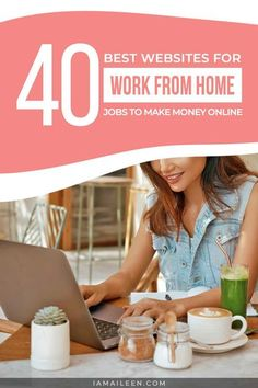 Find out the best websites for work from home jobs that will make you earn money anytime, anywhere! (Best for digital nomads) // #WorkFromHome #OnlineJobs Digital Nomad, Work From Home Jobs, Earn Money Online, Online Work, Virtual Assistant, Cool Websites, How To Make Money, Work Quotes, Posts