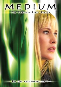 Patricia Arquette & Miguel Sandoval & Aaron Lipstadt & Artie Mandelberg-Medium - The Complete First Season Patricia Arquette, Medium Tv Series, Sofia Vassilieva, Are Psychics Real, American Series, Tv Supernatural, Tv Show Games, Dvd