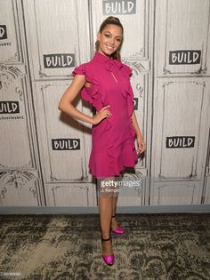 Miss Universe 2017 Demi-Leigh Nel-Peters visits Build Series at Build Studio on November 29, 2017 in New York City.