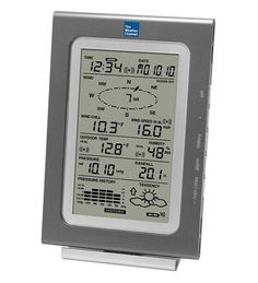 The Weather Channel® Wireless Professional Weather Center With Rain Gauge by La Crosse Technology® in Advanced Weather Instruments