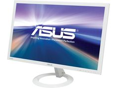 "ASUS VX238H-W White 23"" 1ms (GTG) HDMI Widescreen LED Backlight LCD Monitor 250 cd/m2 80,000,000:1 - Newegg.com"