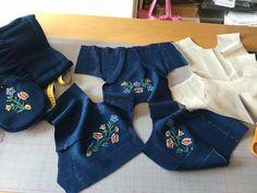 Norway, Machine Embroidery, Scandinavian, Ethnic, Costumes, Dolls, Sewing, Baby Dolls, Dressmaking