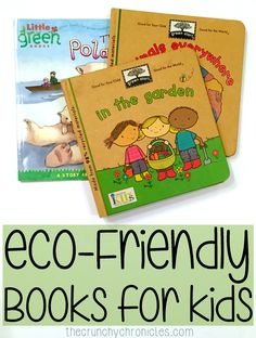 Eco-Friendly Books for Kids