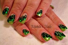 My St. Patty day nails from last year