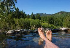 Hot Springs: Breitenbush Hot Springs, Oregon