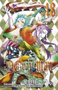 Couverture D.Gray-man, tome 18 : Lonely boy