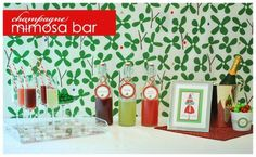 islay street style: mimosa bar
