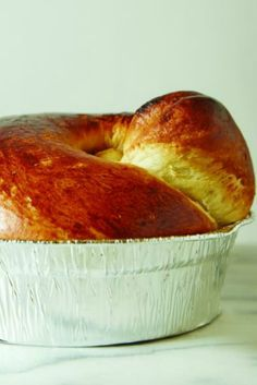 The simple combination of sweet challah dough laced with ground cardamom and stuffed with silan and tahini is a winner.