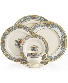 Lenox Autumn Collection.  A friend of mine had this china for years.